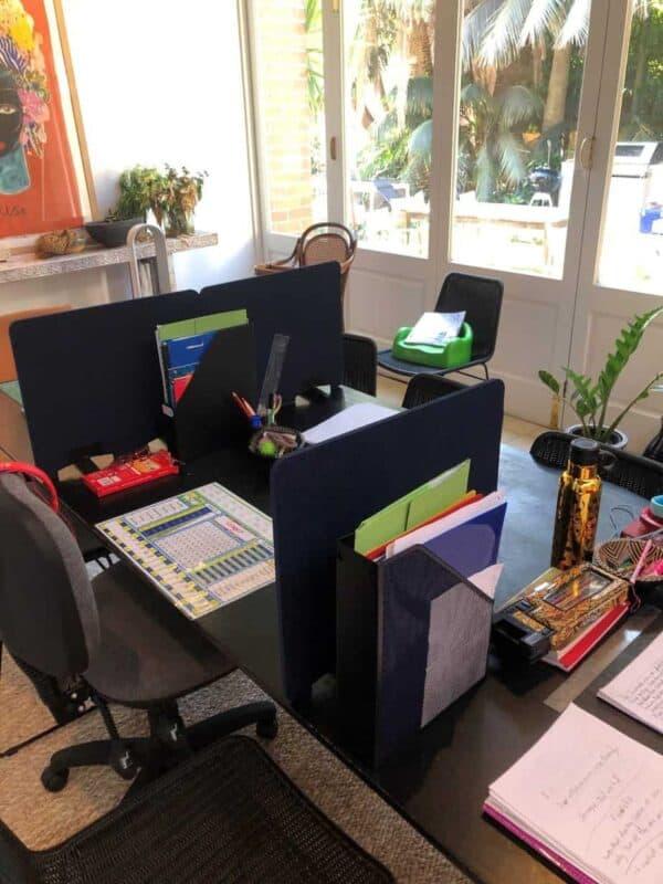 Screen - ED® - Home School Desk Set up