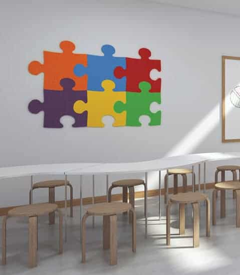 Puzzle - ED Acoustic Wall Tile Set