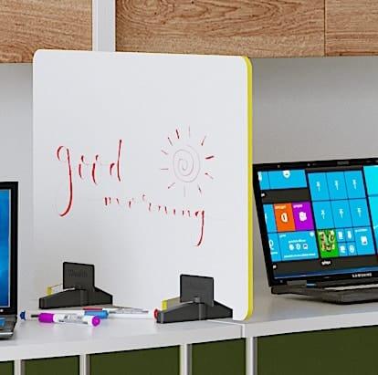 Screen- ED - WRITE - whiteboard desk divider