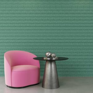 horizontal grooved acoustic panels