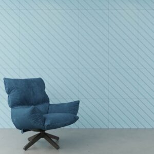 Acoustic Wall Tiles with 45 groove